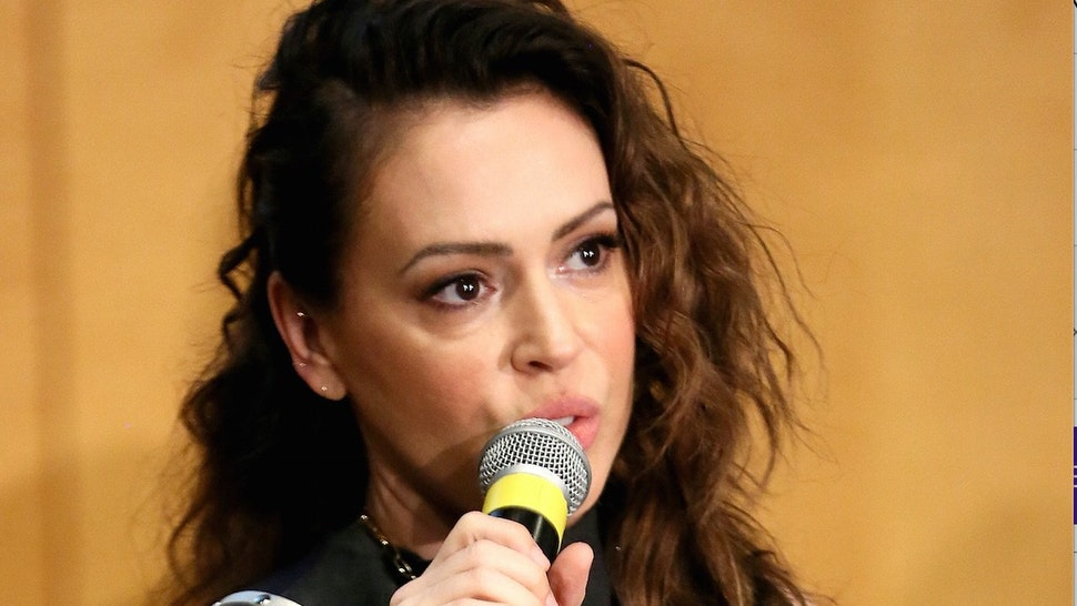 Alyssa Milano Says Pro Lifers Should Shut Up If They Support