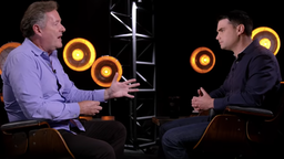 Piers Morgan and Ben Shapiro
