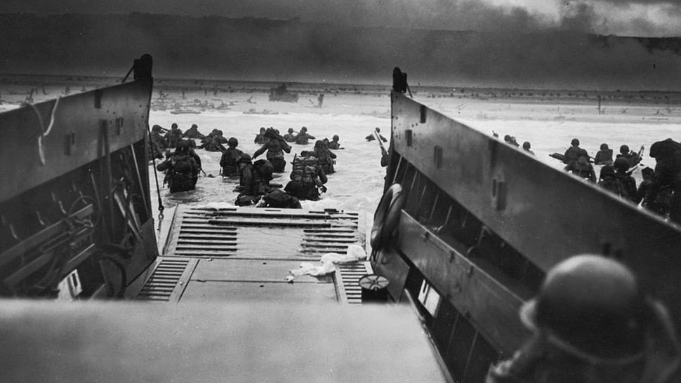 U.S. Invasion Of Normandy, D-Day