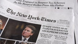 A New York Times cover