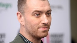 Sam Smith attends the Nordoff Robbins O2 Silver Clef Awards 2019 at Grosvenor House on July 05, 2019 in London, England