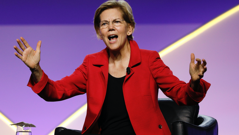 Democratic presidential candidate U.S. Sen. Elizabeth Warren (D-MA) participates in a Presidential Candidates Forum at the NAACP 110th National Convention on July 24, 2019 in Detroit, Michigan. The theme of this years Convention is, When We Fight, We Win.