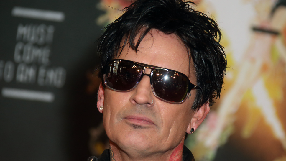 JUNE 09: Tommy Lee attends the last ever European press conference for Motley Crue at Law Society on June 9, 2015 in London, England.