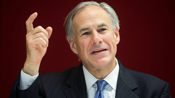 Greg Abbott, governor of Texas, speaks during an interview in New York, U.S., on Tuesday, July 14, 2015.
