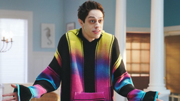 "SATURDAY NIGHT LIVE -- ""Paul Rudd"" Episode 1767 -- Pictured:Pete Davidson during ""A Journey Through Time"" sketch on May 18, 2019"