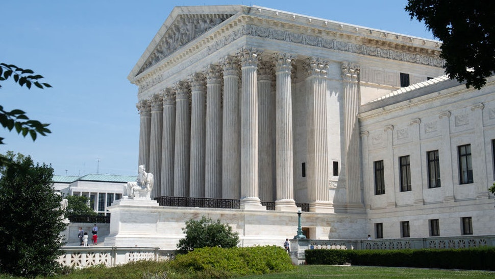 The US Supreme Court is seen in Washington, DC, June 24, 2019.