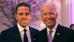 Joe Biden and his son Hunter Biden