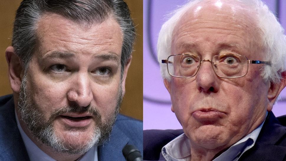 Ted Cruz, Bernie Sanders