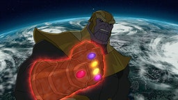 With the power and might of all five Infinity Stones finally in his gauntlet, Thanos plans to wield his power over the Universe while the Avengers make a desperate attempt to stop him.