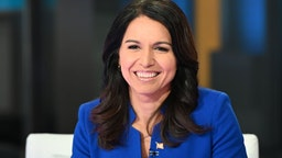 "Democratic Presidential Candidate Tulsi Gabbard visits ""FOX & Friends"" at Fox News Channel Studios"