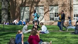 Students at the University of North Carolina.
