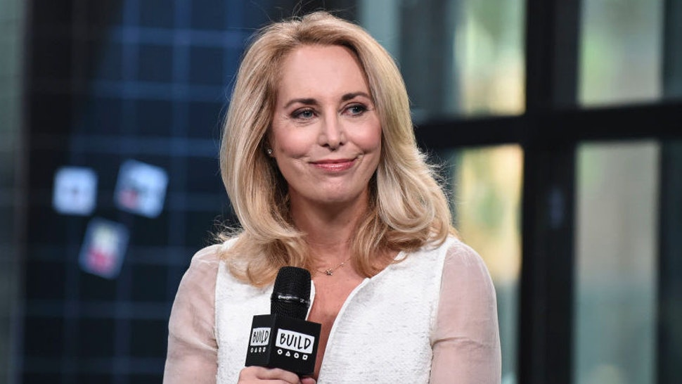 Valerie Plame attends the Build Series to discuss the film 'Fair Game' at Build Studio on October 24, 2018 in New York City.