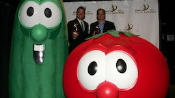 Veggie Tales during 38th Annual GMA DOVE Awards - Press Room at Grand Old Opry in Nashville, United States, United States.