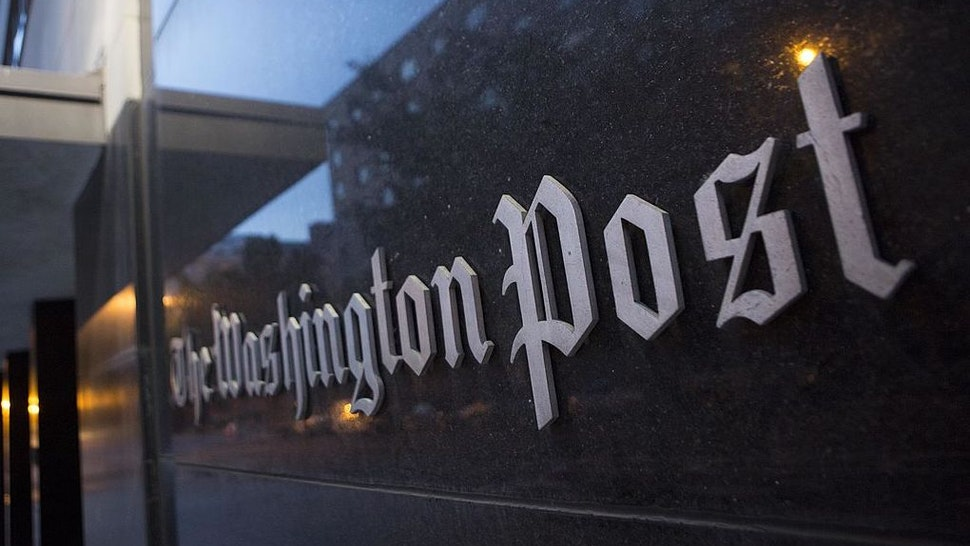 The Washington Post Co. headquarters stands in Washington, D.C., U.S., on Monday, Aug. 5, 2013.