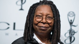 Whoopi Goldberg arrives at 55th Annual CLIO Awards at Cipriani Wall Street on October 1, 2014 in New York City.