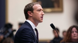 The Facebook CEO, Mark Zuckerberg, testified before the House Financial Services Committee on Wednesday October 23, 2019 Washington, D.C.