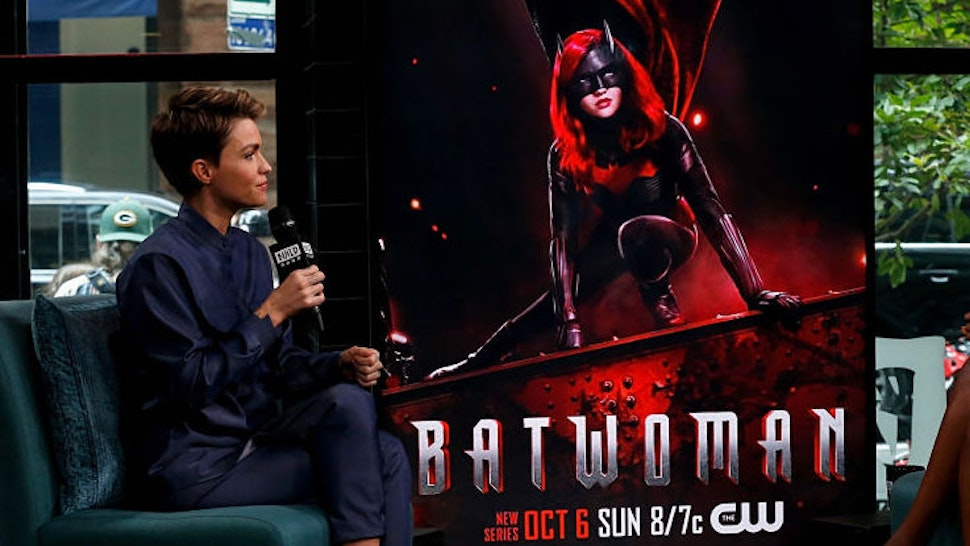 Ruby Rose (L) attends the Build Series to discuss 'Batwoman' at Build Studio on September 30, 2019 in New York City. (Photo by Dominik Bindl/Getty Images)