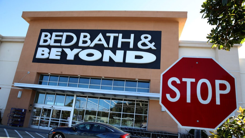 A view of a Bed Bath and Beyond store on October 03, 2019 in Daly City, California. New Jersey based home goods retailer Bed Bath and Beyond announced that it plans to close 60 of its stores in the fiscal year, 20 more than previously announced in April of this year. (Photo by Justin Sullivan/Getty Images)