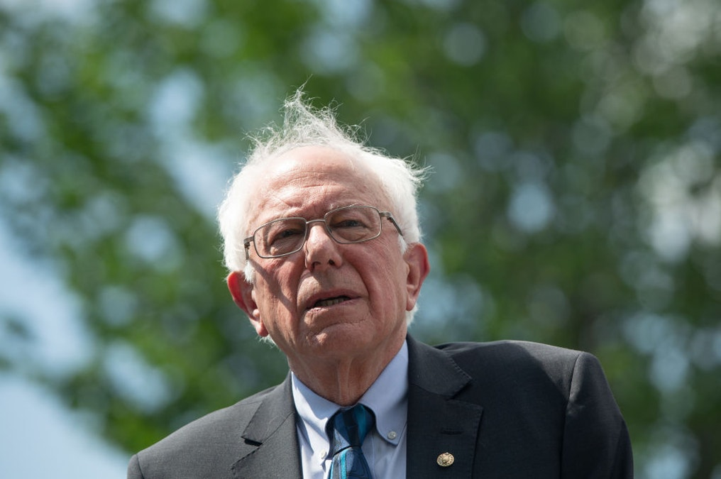 WATCH: Bernie Sanders Asked If He's Considered Dropping Out After Heart Attack