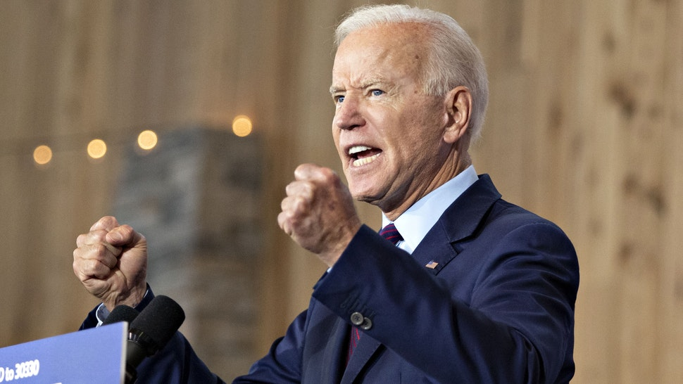 Former U.S. Vice President Joe Biden, 2020 Democratic presidential candidate, speaks during a campaign event in Burlington, Iowa, U.S., on Wednesday, Aug. 7, 2019. President Donald Trump has encouraged white supremacy to come out of the shadows, Biden said, adding that there's very little that distances Trumps rhetoric from the anti-immigrant screeds of mass shooters like the suspect in the recent attack in El Paso, Texas.