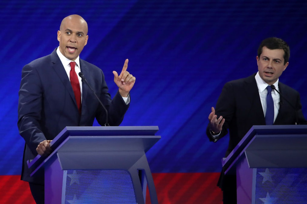 Booker Accuses Buttigieg Of 'Doing The NRA's Work For Them'