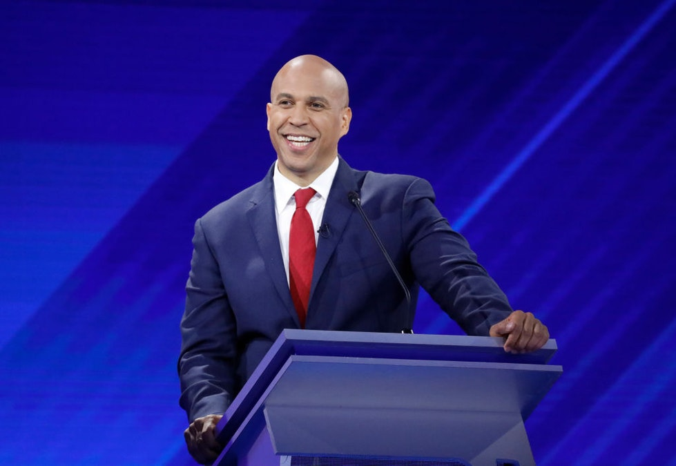 Cory Booker Hits Fundraising Goal To Continue His Bid For The Presidency