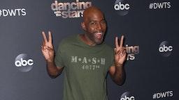 "Karamo Brown poses at ""Dancing with the Stars"" Season 28 at CBS TelevisIon City on October 28, 2019 in Los Angeles, California."