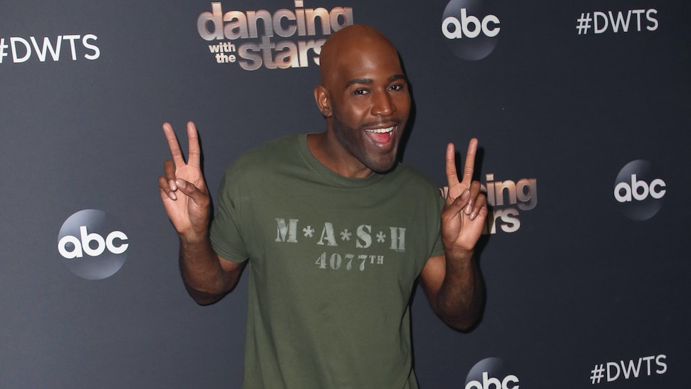 "Karamo Brown poses at ""Dancing with the Stars"" Season 28 at CBS TelevisIon City on October 28, 2019 in Los Angeles, California."