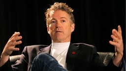 U.S. Senator Rand Paul speaks onstage at 'A Conversation With Senator Rand Paul' during the 2015 SXSW Music, Film + Interactive Festival at JW Marriott on March 15, 2015 in Austin, Texas.