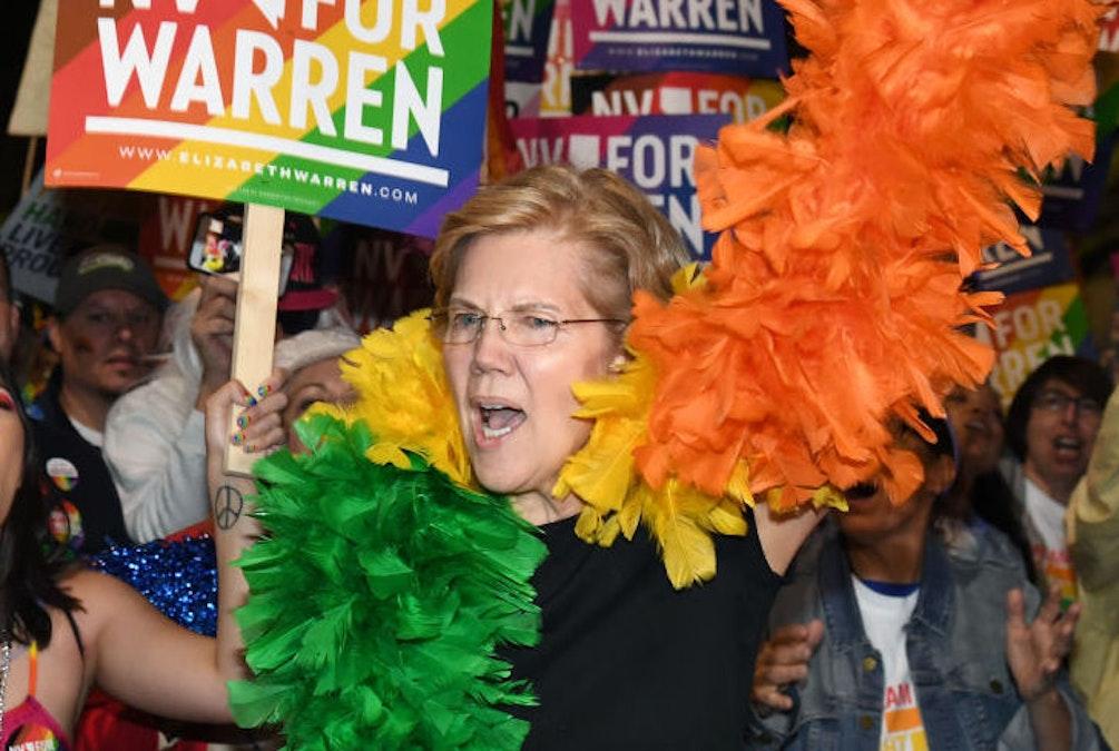 Warren: 'I Was Fired For Being Pregnant Transgender Gay Indian' [Satire]