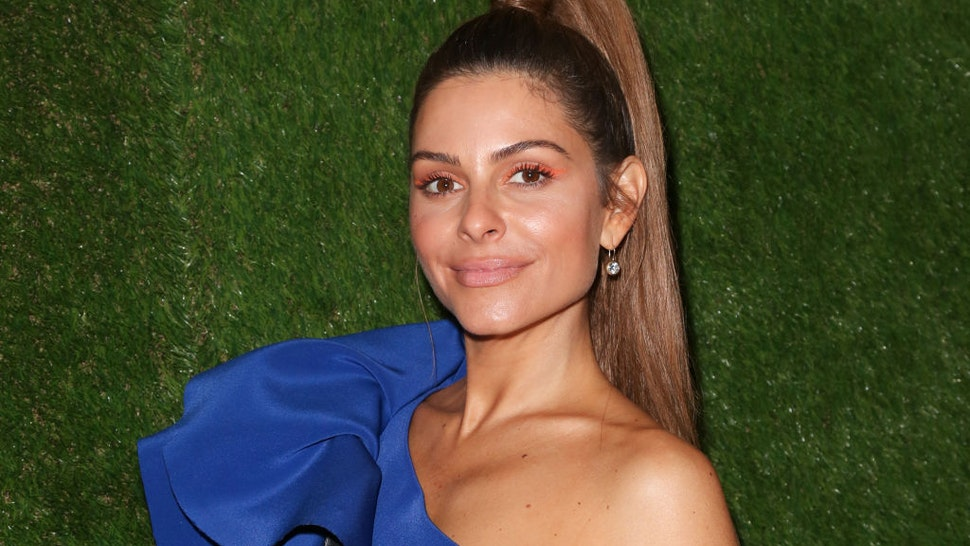 TV Personality Maria Menounos is seen in Beverly Hills on January 06, 2019 in Los Angeles, California.