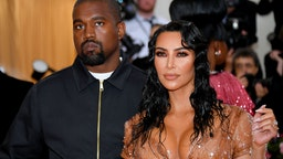 MAY 06: Kim Kardashian West and Kanye West attend The 2019 Met Gala Celebrating Camp: Notes on Fashion at Metropolitan Museum of Art on May 06, 2019 in New York City.