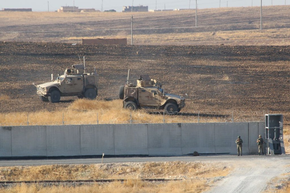 Report: U.S. Bombs Own Headquarters In Syria For Fighting ISIS As Turkish Forces Approach