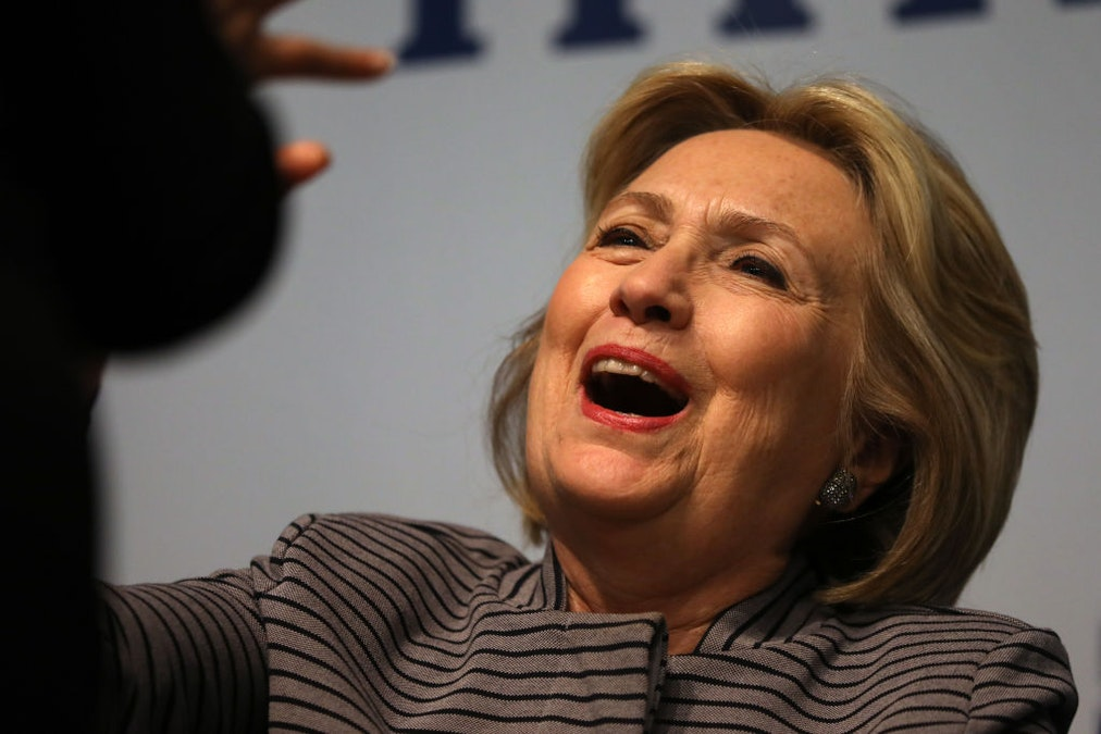 Hillary Clinton On A Conspiracy Roll, Claims '10-Year-Olds Are Hacking Our Voting Systems'