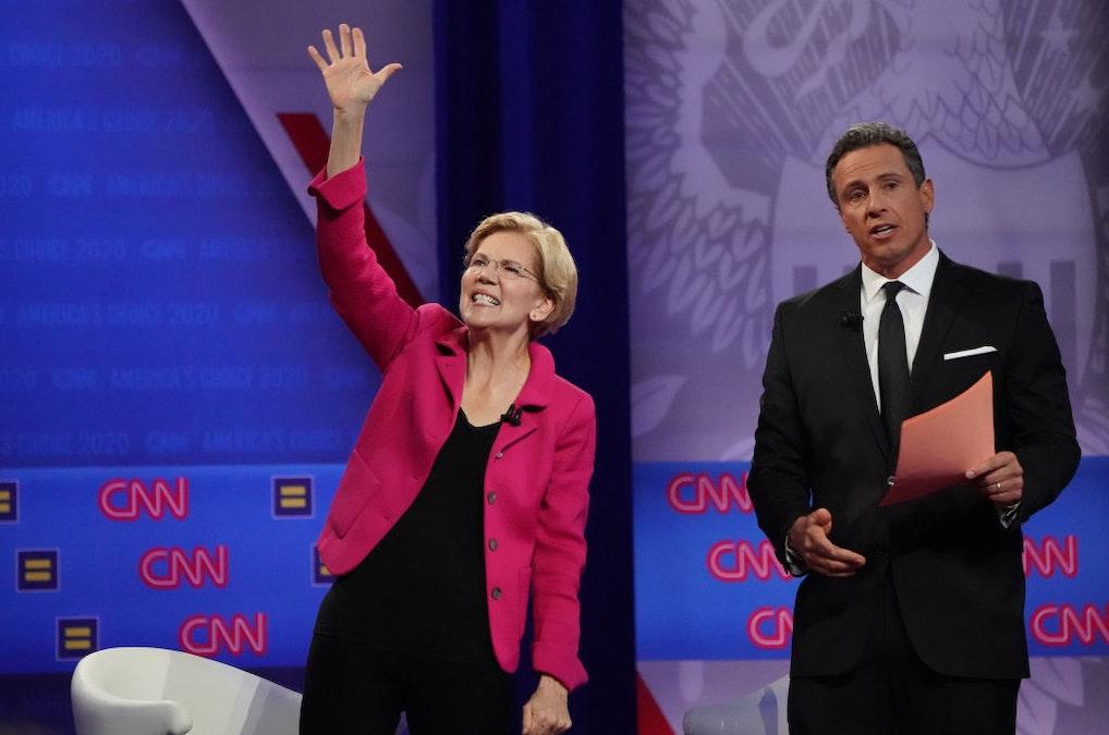 At CNN LBGTQ Event, Elizabeth Warren Contemptuously Dismisses Men Of Faith