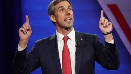 LOS ANGELES, CALIFORNIA - OCTOBER 10: Democratic presidential candidate former U.S. Rep. Beto O'Rourke (D-TX) speaks at the Human Rights Campaign Foundation and CNN presidential town hall focused on LGBTQ issues on October 10, 2019 in Los Angeles, California. It is the first Presidential event broadcast on a major news network focused on LGBTQ issues.