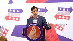 Michael Knowles speaks onstage during day 2 of Politicon 2019 at Music City Center on October 27, 2019 in Nashville, Tennessee. (Photo by Jason Kempin/Getty Images for Politicon )