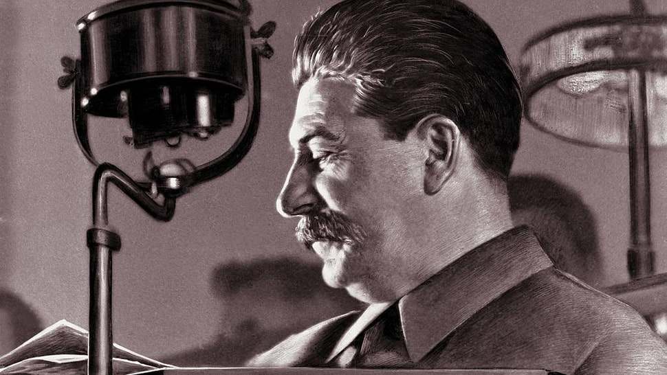 Joseph Stalin, born Josef Vissarionovich Dzugashvili, (1879- 1953), a Bolshevik revolutionary and leader of the Soviet Union, Moscow, 1944. He remained in power through World War II and until his death.