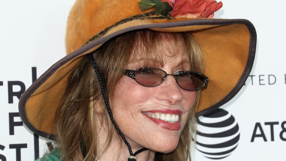 """Singer/songwriter Carly Simon attends the 2017 Tribeca Film Festival - """"Clive Davis: The Soundtrack Of Our Lives"""" world premiere - opening night at Radio City Music Hall on April 19, 2017 in New York City."""