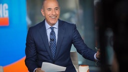 TODAY -- Pictured: Matt Lauer on Friday, Aug.11, 2017