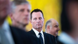 US ambassador to Germany Richard Grenell attends a new year's reception
