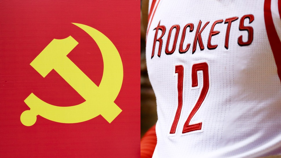 China Communist Party Houston Rockets