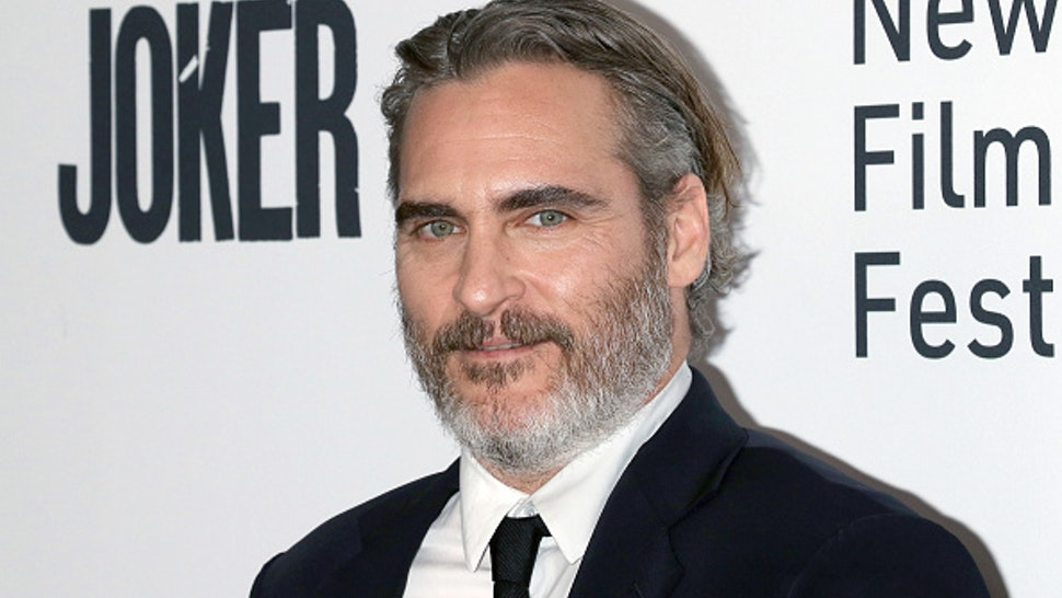 "NEW YORK, NEW YORK - OCTOBER 02: Actor Joaquin Phoenix attends the ""Joker"" premiere during the 57th New York Film Festival at Alice Tully Hall, Lincoln Center on October 02, 2019 in New York City."