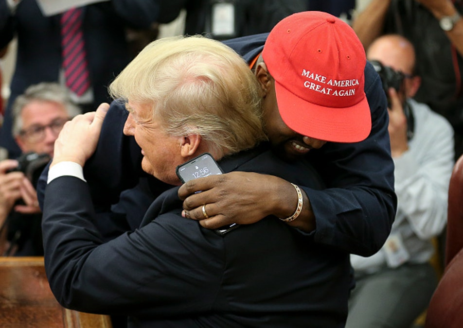 Kanye West Defends Trump Support: 'Mental Slavery' To Make Decisions Based On Race