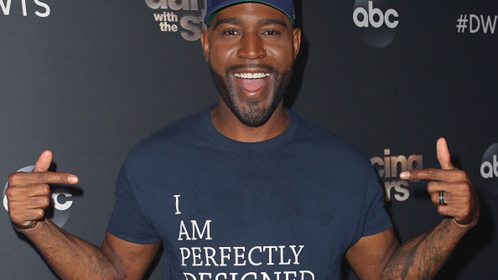"LOS ANGELES, CALIFORNIA - OCTOBER 14: Karamo Brown poses at ""Dancing with the Stars"" Season 28 at CBS Television City on October 14, 2019 in Los Angeles, California."