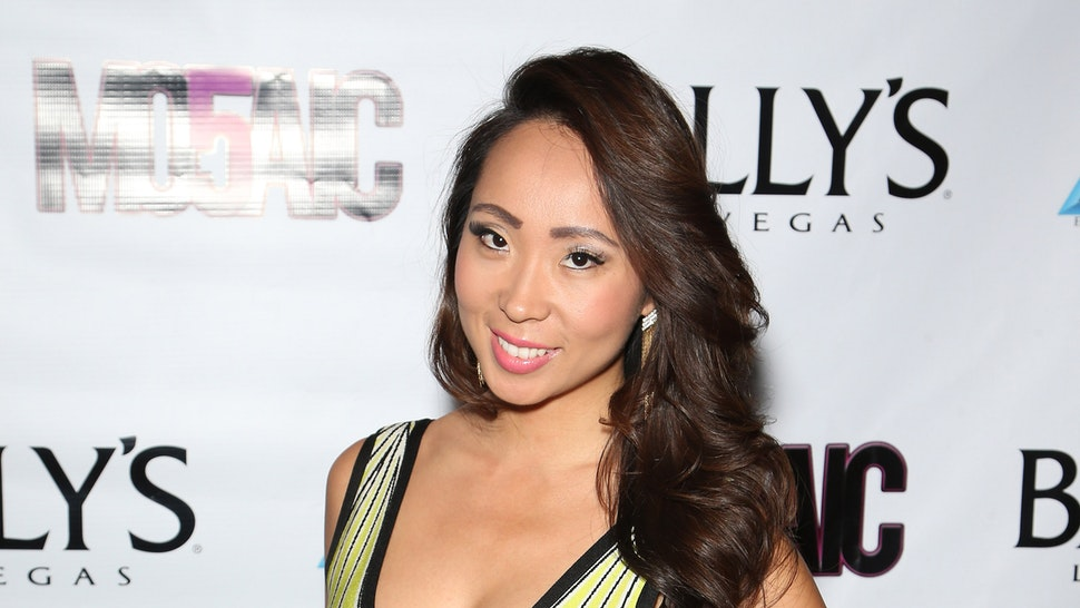 LAS VEGAS, NV - JUNE 22: Model Lisa Song Sutton attends opening night of the a cappella group Mo5aic's residency at Bally's Las Vegas on June 22, 2015 in Las Vegas, Nevada.