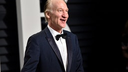 BEVERLY HILLS, CA - FEBRUARY 26: Television personality Bill Maher attends the 2017 Vanity Fair Oscar Party hosted by Graydon Carter at Wallis Annenberg Center for the Performing Arts on February 26, 2017 in Beverly Hills, California.