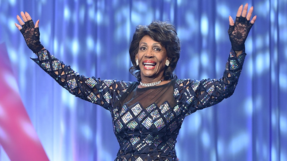 WASHINGTON, DC - SEPTEMBER 14: Congresswoman Maxine Waters attends the Congressional Black Caucus' Annual Legislative Conference's Phoenix Awards Dinner at The Walter E. Washington Convention Center on September 14, 2019 in Washington, DC.