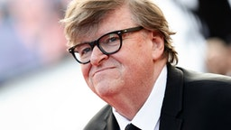 """CANNES, FRANCE - MAY 25: Michael Moore attends the closing ceremony screening of """"The Specials"""" during the 72nd annual Cannes Film Festival on May 25, 2019 in Cannes, France."""