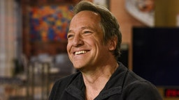 """Mike Rowe, CEO, mikeroweWORKS Foundation, appears on """"Meet the Press"""" in Washington, D.C., Sunday Dec. 11, 2016. (Photo by: William B. Plowman/NBC/NBC Newswire/NBCUniversal via Getty Images)"""